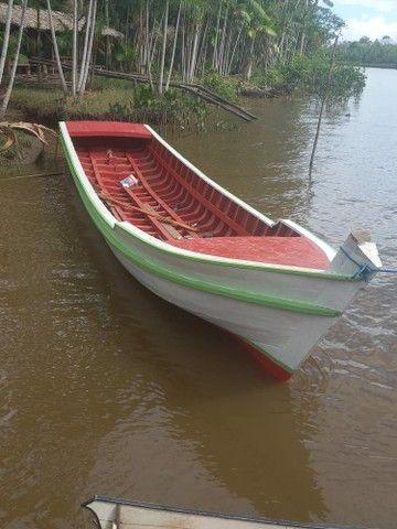 Vendo um barco