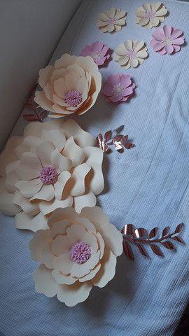 Flores Decorativas de Papel - Foto 5
