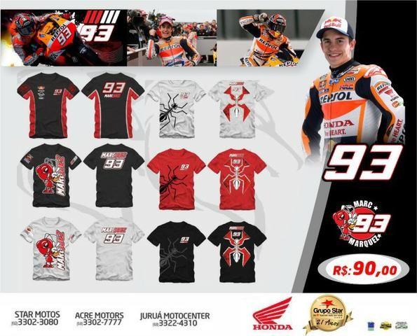 Motos Camisetas Marc Marquez 93