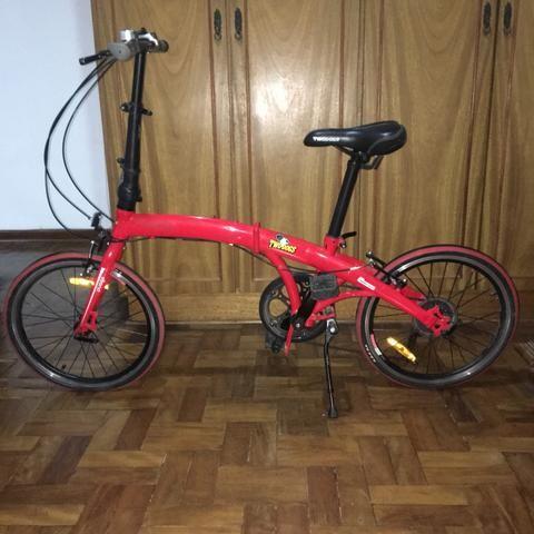 Bicicleta dobrável TWO DOGS