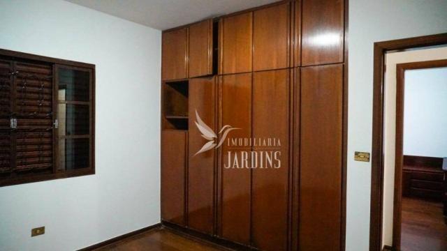Casa com 3 dormitórios para alugar, 200 m² por r$ 2.100,00/mês - novo aeroporto - londrina - Foto 12