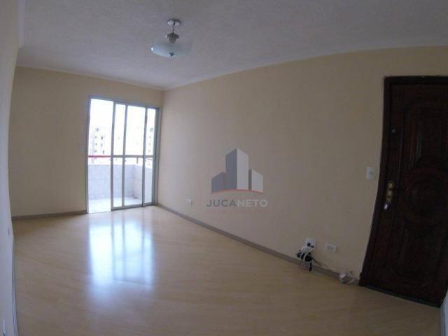 Apartamento com 2 dormitórios para alugar, 52 m² por r$ 1.350/mês - parque são vicente - m - Foto 5