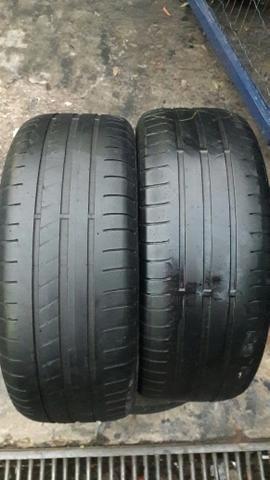 Par de pneu 195/55/15 Goodyear meia vida.barato - Foto 3