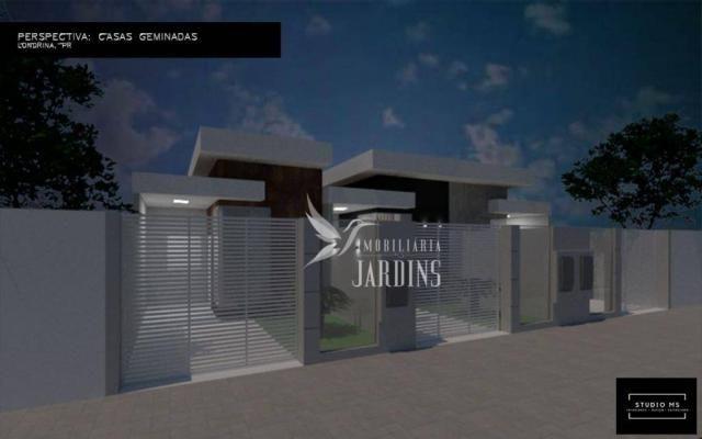 Casa com 2 dormitórios à venda, 68 m² por R$ 190.000 - Columbia - Londrina/PR - Foto 2
