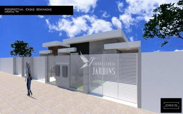Casa com 2 dormitórios à venda, 68 m² por R$ 190.000 - Columbia - Londrina/PR - Foto 3