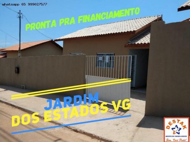 Casa para venda em várzea grande, paiaguas, 2 dormitórios, 1 suíte, 2 banheiros, 2 vagas - Foto 5