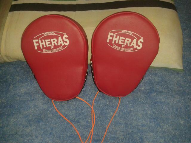 Luvas de manopla para treino de luta - Foto 3