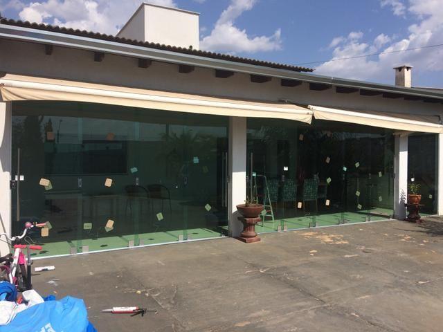 Instalação de vidros