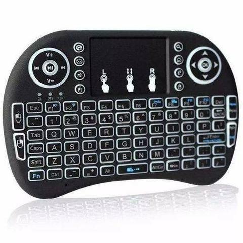 Mini Teclado Mouse Usb Wireless Touch Game Smart Tvbox Pc - Foto 4