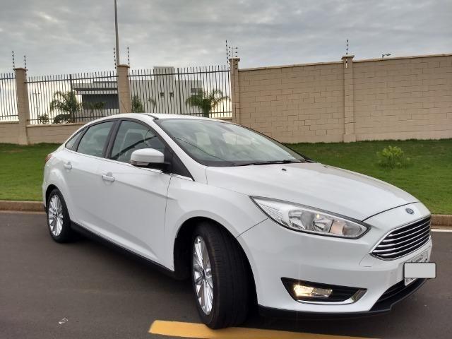 Ford Focus Titanuim 2016 Completíssimo, todas as revisões na concessionária