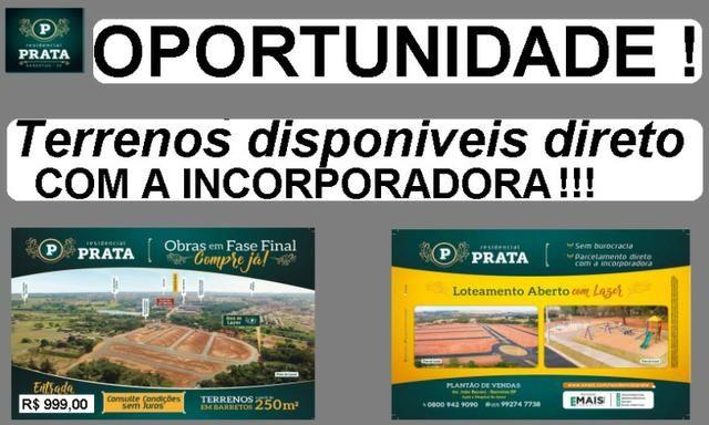 Lotes a Prazo Residencial Prata Barretos