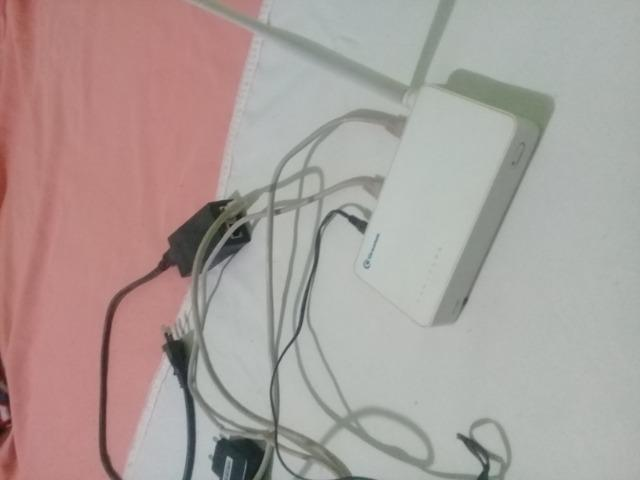 Antena e modem greatek para internet - Foto 2