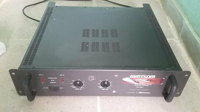 Amplificador DBL 720 + mesa - Foto 3