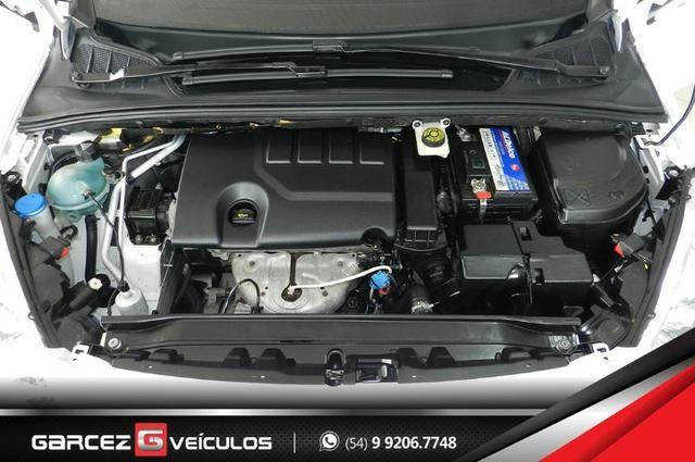 Peugeot 308 1.6 Active Flex Manual Com Teto Leds Diúrnos Couro Multimídia Top - Foto 8