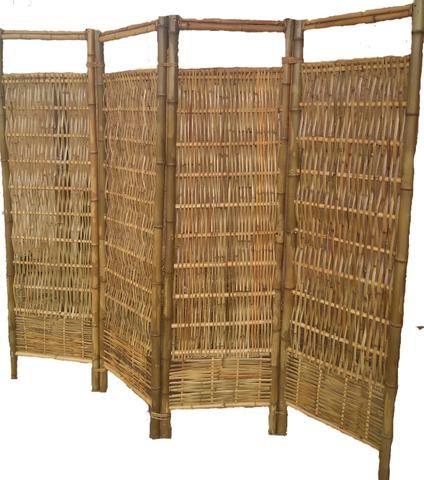Biombo de bambu - Foto 2
