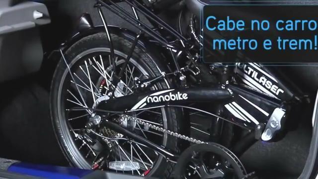 Bicicleta Elétrica Dobrável - Foto 4