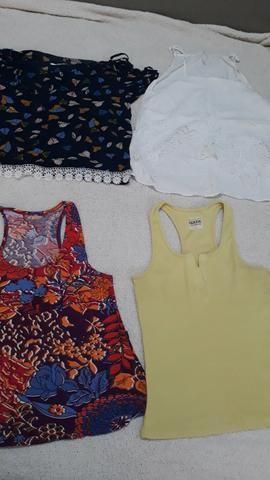 Blusas basicas feminina - Foto 6