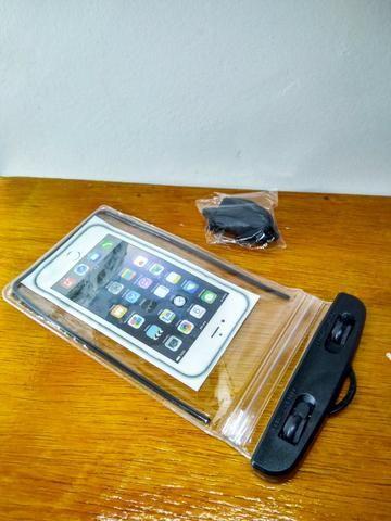 Sacola plástica A Prova d´água Para celular - Foto 2