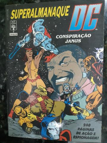 Superalmanaque DC 1, 2 e 3 - Foto 2