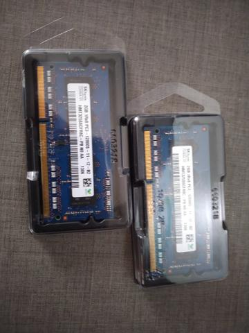 Memória Notebook 4gb 2x2 - DDR3 1600 Mac PC