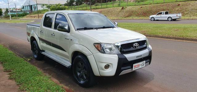 Hilux Cabine Dupla 4x4 Diesel (2008) A mais Barata de Londrina!!!