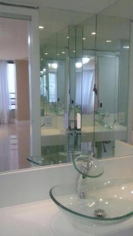 Apartamento com 4 dormitórios para alugar, 208 m² por r$ 4.500,00 - petrópolis - natal/rn - Foto 6