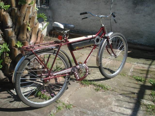 Bicicleta Caloi Barra Forte das antigas - Foto 2