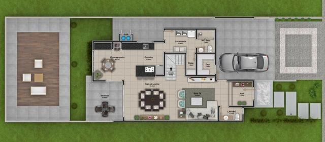 Excelente residência de alto padrão c/ 03 quartos no Villa Toscana !! - Foto 3
