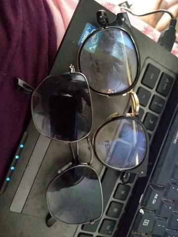ab3285cd96749 Óculos Sol e armação sem grau. os dois - Bijouterias, relógios e ...