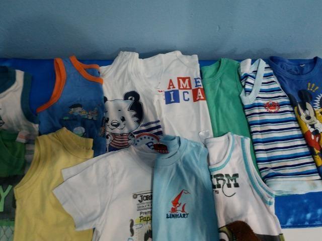 113de6297661f Camisa Regata Menino 6 meses a 2 anos - Artigos infantis - Teixeirão ...