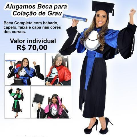86e35d4b86 Becas para Formatura - Todos os Cursos - Aluguel - Locação ...