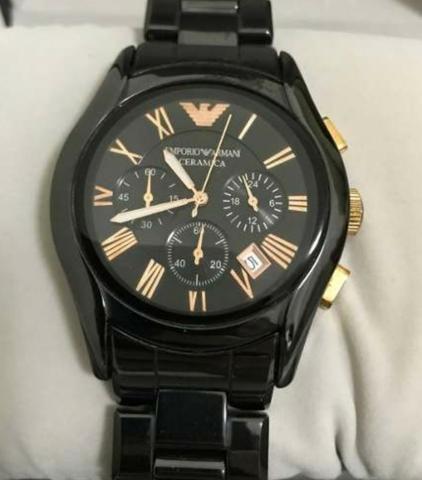 c3010be9c Relógio Emporio Armani Masculino Cerâmica - Ceramic Ar1410 ...