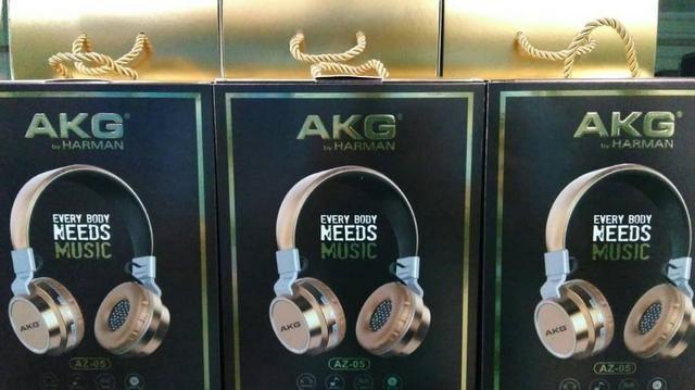 Fone Bluetooth akg Az 05 Headfone-(Loja na Cohab)- Total Segurança na Sua Compra - Foto 3