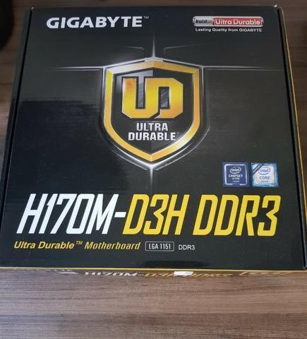 GIGABYTE GA-H170M-D3H DDR3 INTEL LAN DESCARGAR DRIVER