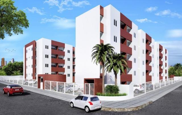 Apartamento com 2 dormitórios, 55 m² - venda por R$ 218.368,57 ou aluguel por R$ 1.100,00/
