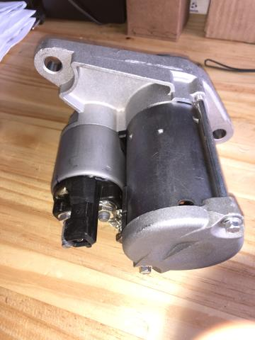 Motor de arranque novo original Fox polo gol G5 g6 saveiro Voyage - Foto 4
