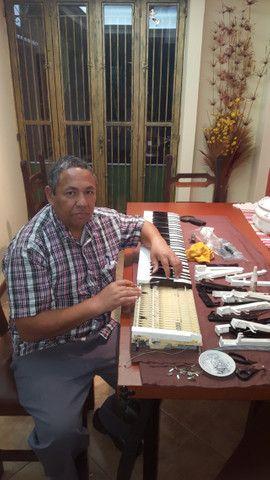 Conserto de piano digital , teclado, orgão eletrônico
