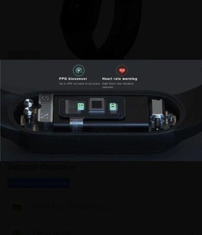 Smartwatch Mi Band 5 Xiaomi Original Versão Global - Foto 5