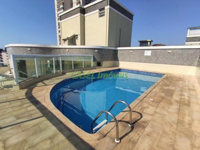 Apartamento à venda com 2 dormitórios em Guilhermina, Praia grande cod:804126 - Foto 4