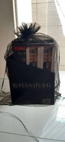 Coleção de livros da série Supernatural