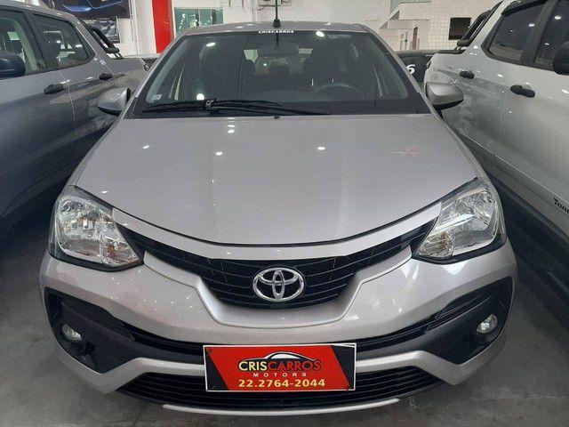 Etios 2018 1.5 X Sedan, flex, automático