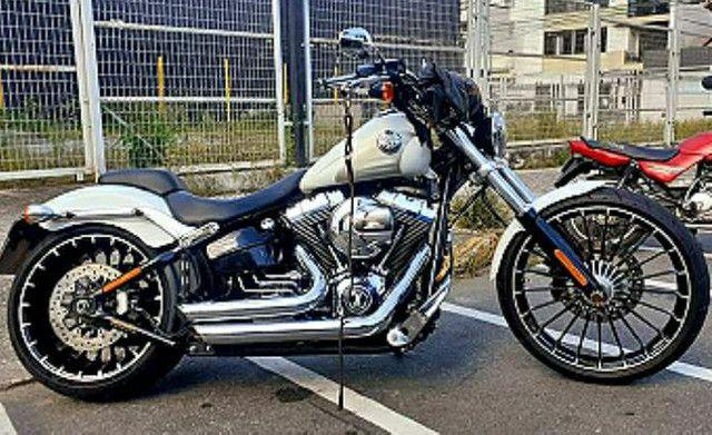 Harley davidson breakout 1700 cc - Foto 9
