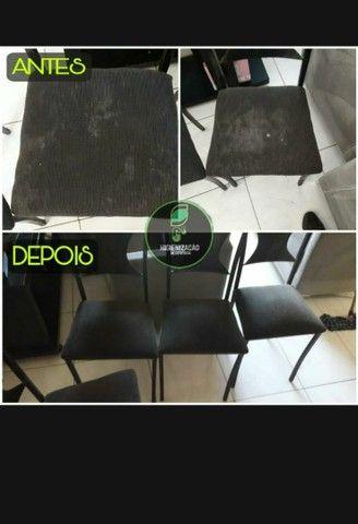 Limpeza e Higienização de Estofados  - Foto 4