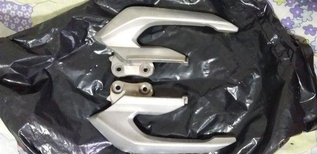 Alças laterais de alumínio liga leve da cb twister
