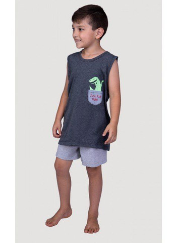 Pijama Infantil Dino