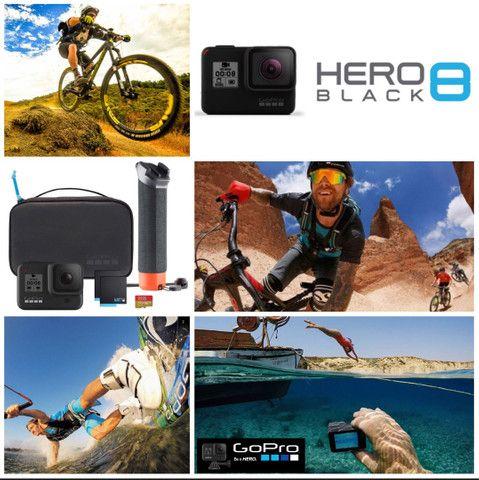 Câmera GOPRO Hero 8 4k + acessórios  - Foto 2