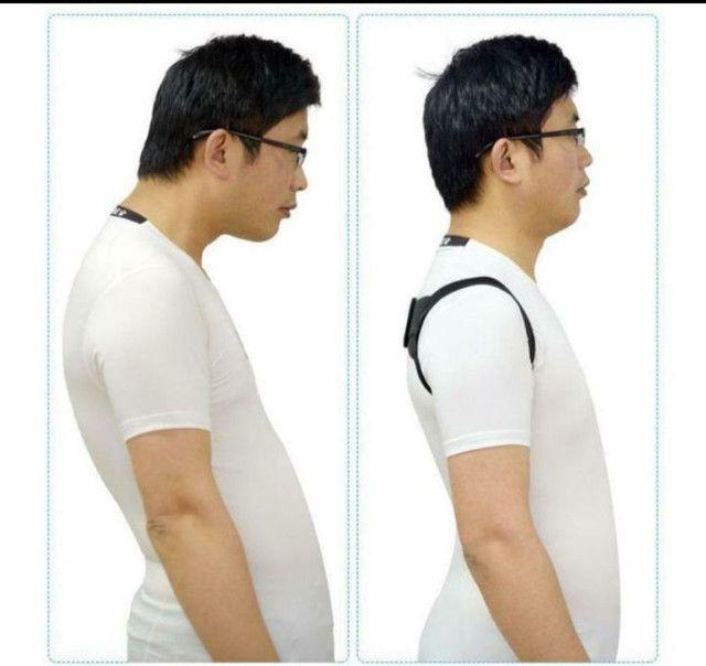 Colete Corretor Postural de Ombro e Cervical / Colete Ajustável,Corretiva para as Costas - Foto 3