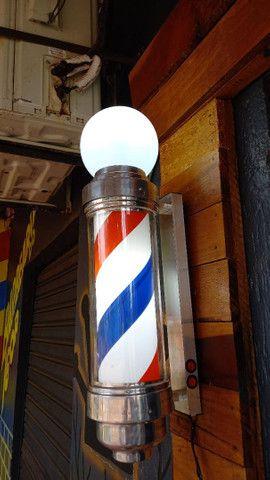 Vende-se barber pole pouco tempo de uso  - Foto 2