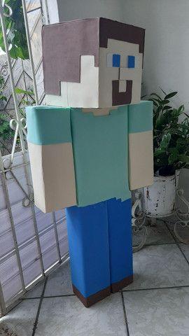 Boneco do Minecraft - Foto 3