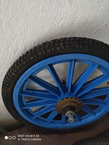 Barato roda e pneus bicicleta leia descriçao - Foto 2